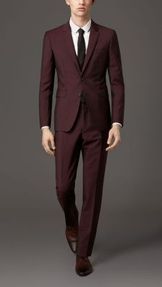 Burberry Slim Fit Silk Wool Suit | Mike S. Business Board ...