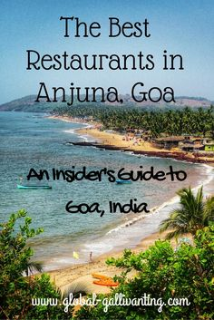 The Best Restaurants in Anjuna