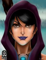 Morrigan Dargon Age Fan Art by A-Evil-Sorcerer
