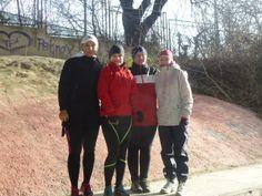 Aj v januári sa dá behať :) Náš spoločný beh  - 7km  - lokalita Lafranconi a výborné bežkyne !