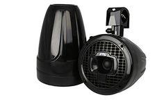 Power Sports Sport6B 6-Inch Marine Wakeboard Tower Speakers (Black)