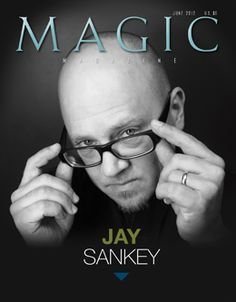Magic Magazine June 2012 - With over 1,800 published magic tricks, it's hard to believe Jay Sankey needs an introduction. Odds are you have one of his effects or DVDs in your home or office somewhere and, as a result, have heard or seen Jay as he teaches you something in his recognizably offbeat and impromptu manner. But when you actually stop and think about it, about him, questions ... get it here: http://www.wizardhq.com/servlet/the-13512/magic-magazine-june-2012/Detail?source=pintrest