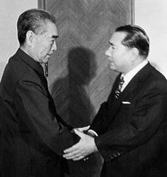 Chinese Premier Zhou Enlai insisted on meeting Daisaku Ikeda in 1974