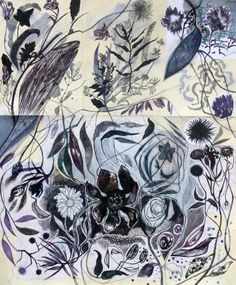 Massimiliano Fabbri / Ricordare scegliere sistemare / 2013, collage, grafite, carboncino, china, penna biro, pastello a olio, pennarelli e matite colorate su carta, cm 85x70