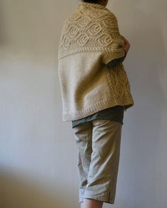 roko's Walnut Cardigan- does someone want to make me this sweater?:) Wish I knew how to knit!