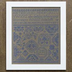 Quaker Sampler: Peace To My Friend – period inspired cross-stitch pattern
