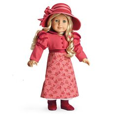 American Girl Caroline's Travel Outfit Dress & Jacket Hat Doll Not Included   eBay