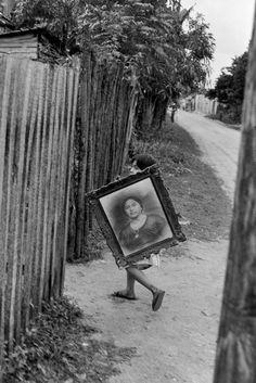 Henri Cartier-Bresson :: Mexico City, 1963