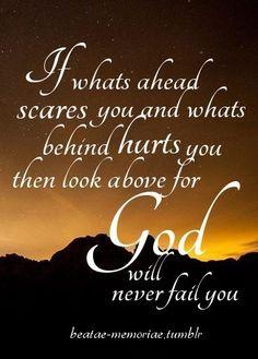 Amen. God will never fail you.