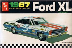 1/25 AMT 1967 Ford XL Hardtop