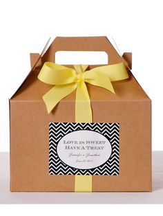 Welcome boxes!! Love this!
