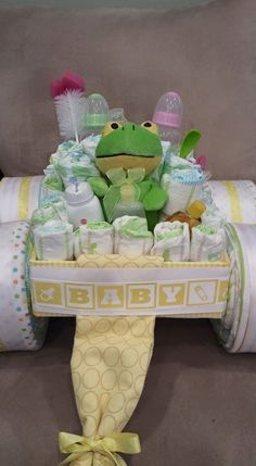 race car diaper cake instructions