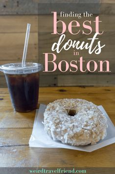 Visiting Boston? Looking for a treat? I've got a list (and some opinions) about the best donuts in Boston. Read on for more information about some of the sweet foods in Boston! #visitboston #bostonma #boston Travel Usa, Travel Tips, Travel Destinations, Usa Places To Visit, Boston Travel, New England Travel, Road Trip Hacks, Food Places, In Boston