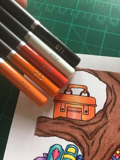Colouring Techniques, Colour Combinations, Colored Pencils, Art Supplies, Coloring Pages, Castle, Colors, Inspiration, Products