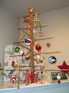 Inspired Whims: An Alternative Christmas Tree