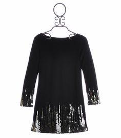 Biscotti Tween Holiday Party Dress Season to Sparkle (from labellaflorachildrensboutique.com)