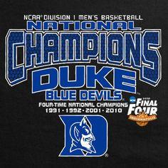 2010 National Champions Go Duke Blue Devils