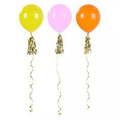 shopandmarry.de: Bunte Riesenballons PARTY-TIME (3 Stück)