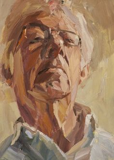 Dad looking down by Tim Benson...i love this painting technique