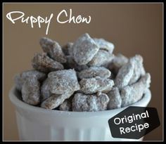 Puppy Chow-Original Recipe- Cheerios and Lattes