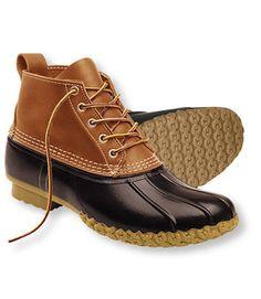 "L.L. Bean Bean Boots 6"". For rainy/snowy seasons."