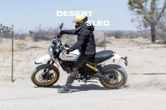 Inventive, youthful and free-spirited, the new Ducati Scrambler is much more than a bike, It's a land of joy, freedom and self-expression. Discover it now Ducati Scrambler, Desert Sled, New Ducati, Black Edition, Cool Bikes, Motorbikes, Offroad, Inventions, Audi
