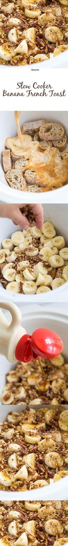 Slow Cooker Banana French Toast