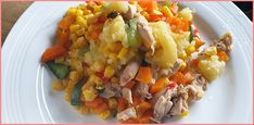 How to Make Leftover Turkey and Stuffing Casserole Leftover Turkey Casserole, Stuffing Casserole, Spicy, Cabbage, Pasta, Fresh, Vegetables, How To Make