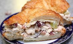 {Recipe} Chunky Rotisserie Chicken Salad with Grapes and Pecans