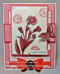 CCMC374_PP264 Floral Birthday by Julie Gearinger - Cards and Paper Crafts at Splitcoaststampers