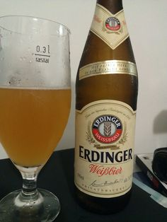 ! I´ve already drank this beer ! [Erdinger Weissbier - German Weizen - 5.6%abv]