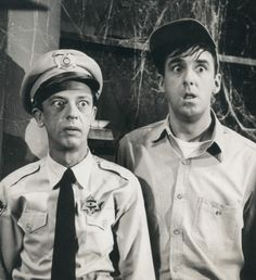Don Knotts & Jim Nabors from The Andy Griffith Show