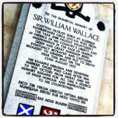 William Wallace. West Smithfield.
