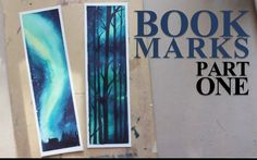 Bookmarks Set is now available via my Etsy Store! https://www.etsy.com/listing/269929910/bookmark-set-1 Watercolor/white acrylic paint/ 300g/m² Hot Pressed W...