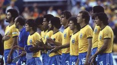 1982 World Cup, Fifa World Cup, Brazil Team, Time Do Brasil, World Cup Teams, Team Photos, Best Player, Football Soccer, All Star