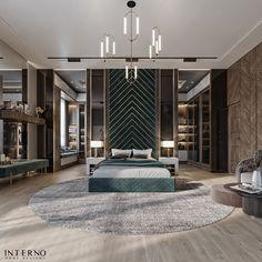 MASTER BEDROOM on Behance Modern Mansion Interior, Modern Luxury Bedroom, Master Bedroom Interior, Luxury Bedroom Design, Modern Master Bedroom, Room Design Bedroom, Bedroom Furniture Design, Luxurious Bedrooms, Interior Design