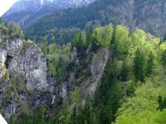 Poellat Gorge (After you have walked up to the Marien bridge to see Neuschwanstein, walk down to this gorge to look up at the castle) - Hohenschwangau, Germany