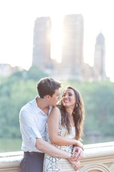 Central Park Engagement Shoot from Caroline Frost Photography