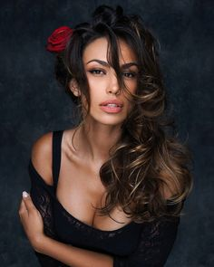 Angels Beauty - Colored faces, Madalina Ghenea