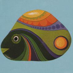 Painting Stones by Doris Epple