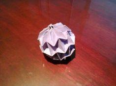 mini magic ball origami by Kirasoni
