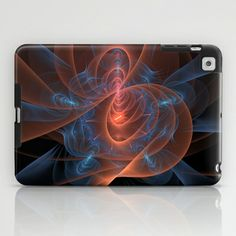 NeonSeries038 iPad Case by fracts - fractal art - $60.00