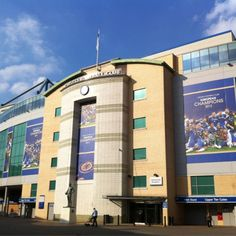 Chelsea FC stadium Stamford bridge home of 2012 European champions.  Can't believe I was able to see this place in person!