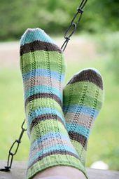 Ravelry: Vanilla Latte Socks pattern by Virginia Rose-Jeanes free pattern ... fingering wgt
