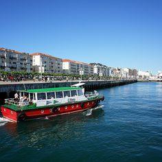 Paseos en lancha por la bahía de #Santander #Cantabria