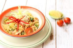Thai Infused Shredded Chicken and Pomelo Salad