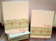simple thank-you cards