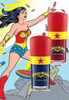 MAC Wonder Woman Obey Me & Spirit of Truth Swatches, Review & Nail Art? | All Lacquered Up