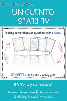Click through for a fun writing activity to practice the present tense in Spanish! Your students will be completely engaged as they let their creativity shine! Fun Writing Activities, Vocabulary Activities, Classroom Activities, Classroom Ideas, Spanish Teaching Resources, Spanish Language Learning, Spanish Vocabulary, Spanish Grammar, Spanish 1