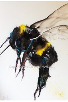 Bumble Bee Print